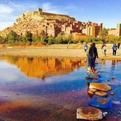 One of #Morocco's most prized UNESCO sites the fortified city of Ait Benhaddou. Thanks to #traveller @lucyannecross for sharing this photo #OnTour from our South Morocco Discovery trip. #LiveIntrepid #travel #wanderlust