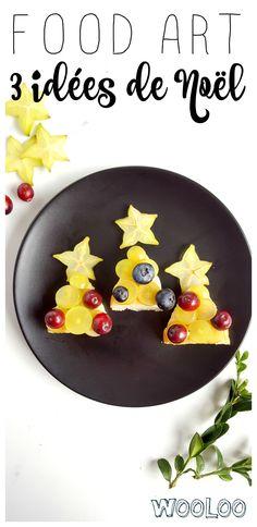 Voici 3 mignonnes assiettes de Noël pour donner faim à vos tout-petits! #food  #foodart #christmas #Noel #bento
