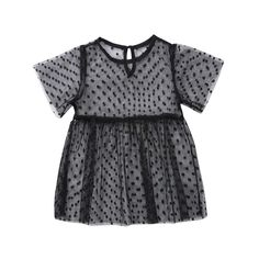 Little Dot Shear Mesh Tulle Dress from kidspetite.com! Adorable & affordable baby, toddler & kids clothing. Shop from one of the best providers of children apparel at Kids Petite. FREE Worldwide Shipping to over 230+ countries ✈️ www.kidspetite.com #girl #clothing #dresses #toddler