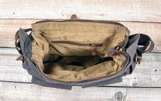 Cool Messenger Bag (12) Cool Messenger Bags, Canvas Messenger Bag, Canvas Material, Canvas Size, Backpacks, Shoulder Bag, Cool Stuff, Leather, Men