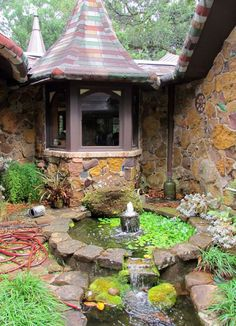 the Castle the home of Dean Mosher a Fairhope artist  -  Travel Photos by Galen R Frysinger She. #Relax more with healing sounds: