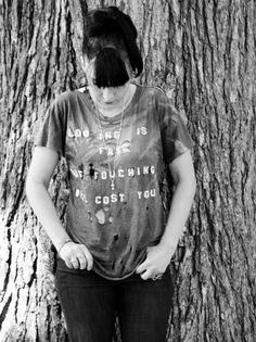 Kathleen Hanna •Looking Is Free But Touching Will Cost You