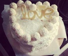 Kokos - Raffaelo torte