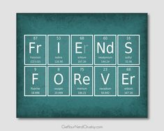 Science Quotes, Science Art, Birthday Card Sayings, Birthday Cards, Periodic Table Words, Periodic Elements, Chemistry Jokes, Word Poster, Name Wall Art