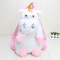 Retail 50cm Despicable Me Despicable Me unicorn bag plush unicorns toy backpack toys for girls kids birthday gift //Price: $21.68 & FREE Shipping // #fashion