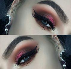 Maquillaje de temporada invierno #minklashes