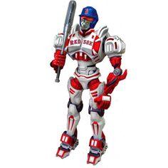 "Foam Fanatics MLB 10"" Team Cleatus Robot - Boston Red Sox"