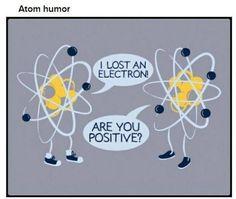 Chemistry joke, atoms humor #agenda
