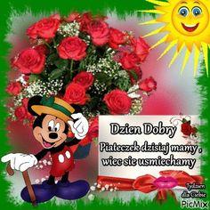 Pozdrawiam 😘😍 Good Morning, Teddy Bear, Christmas Ornaments, Holiday Decor, Image, Polish Sayings, Pictures, Buen Dia, Bonjour