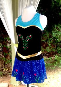 Annie inspired racerback running top by iGlowRunning on Etsy