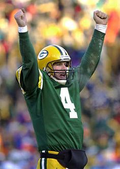 #4 The Gunslinger, The Legend... to think at his initial medical clearance with the Packers the MD thought they'd get no more than 5 years out of him - LOL