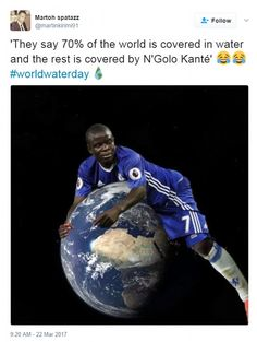 Chelsea cult hero N'Golo Kante moves to dispel funny Twitter stats