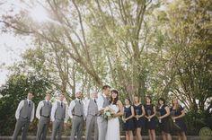 Bridal Party Golden Gardens OneButton Photography