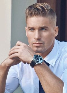 I understand & wish to continue Cool Hairstyles For Men, Cool Haircuts, Hairstyles Haircuts, Haircuts For Men, Short Hair Cuts, Short Hair Styles, Hair Styles 2014, Blonde Guys, Handsome Faces