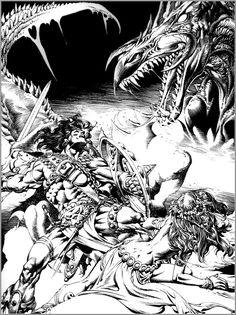 Rudy Nebres Comic Art | Universo HQ: Rudy Nebres Desenhista Comics