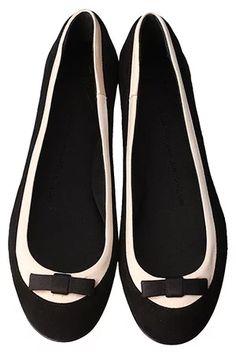 【ELLE SHOP】バイカラーサテンフラットシューズブラック×ピンク  ジュゼッペ・ザノッティ・デザイン(GIUSEPPE ZANOTTI DESIGN)  女性誌『エル(ELLE)』公式ファッション通販 エル・ショップ
