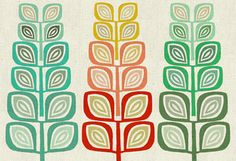 A Forest of three Art giclee Reproduction