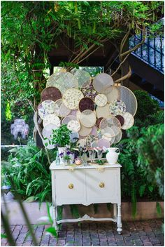 embroidery hoops / charleston vendors styled shoot: bridal luncheon / Izzy Hudgins Photography / The Not Wedding