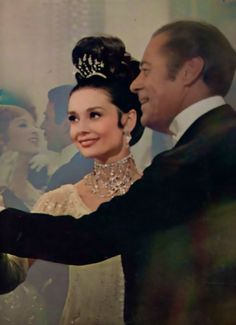 """My Fair Lady,"" starring Audrey Hepburn and Rex Harrison, 1964. ""I could have danced all night!"""