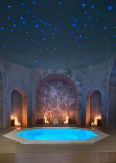 WOW!! Dreamy luxury spa! Iridium Spa at the St Regis Mauritius #luxury #interiordesign #bathroom