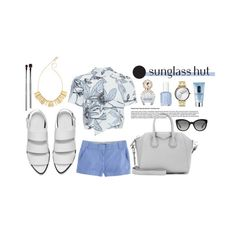 """""""Shades of You: Sunglass Hut Contest Entry"""" by cherryprincess ❤ liked on Polyvore featuring Whistles, esum, Alexander Wang, Clinique, Madewell, Marc Jacobs, Essie, Givenchy, J.Crew and Nixon"""