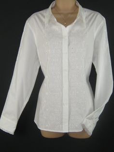 L A U R A A S H L E Y  I dont like ephemeral things, I like things that last forever  ~ timeless elegance ~  A RARE BLOUSE IN 100% PURE WHITE
