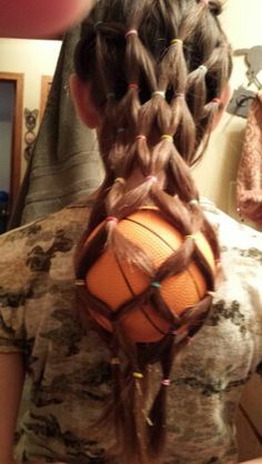 Crazy hair day a little weird and I would do a soccer ball but cool!