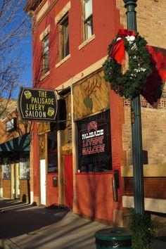 The saloon on Main St. #Palisade, Colorado