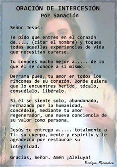 Oracion de intersecion.