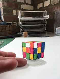 Cube, 3d, Toys, Games, Toy