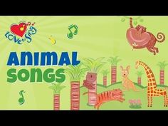 We're Going to the Zoo Song | FREE Video Song & Lyrics