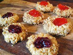 Bird's Nest Cookies (Thumbprint or Thimble Cookies) | A Hint of Honey