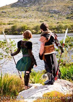 Dragon Age - Apostates by *freltana