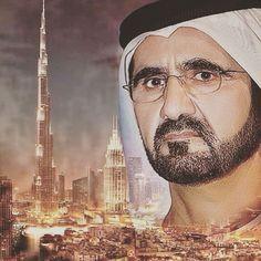Dubái - Mohammed bin Rashid bin Saeed Al Maktoum. Dubai, Dan B, Sheikh Mohammed, Prince Crown, United Arab Emirates, Armin, Countries Of The World, Happy Fathers Day, Family Pictures