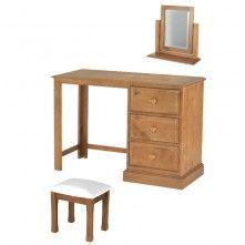 Hendon Pine Dressing Table Set 246