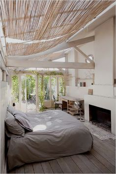 Dream bedroom - a patio or veranda off the master suite