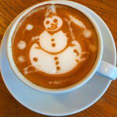 #santaclaus #latteart #barista