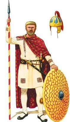 Magister Militum Flavio Stilcone, di origine vandala, che cercò tra il 395 e il 408 di salvare l'impero dal definitivo crollo cercando una collaborazione con i germani. Ma fu ucciso dall'aristocrazia romana accusato di essere un traditore, cosa assolutamente falsa.