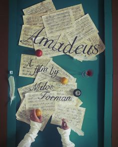 Amadeus Film Poster, Original Artwork Print by Jordan Bolton