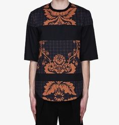 3.1 Phillip Lim floral paneled oversized t-shirt