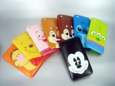 disney phone covers. I want pooh bear! :)