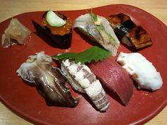 Omakase 2 from Nishiki Sushi in Osaka, Japan