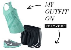 """""""cute workout outfit"""" by audreyymiller on Polyvore"""