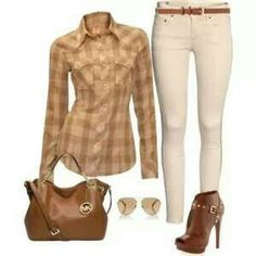 Love earth tones...im going to try this outfit...