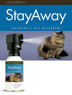 StayAway automatic pet repellent
