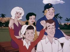 Gilligan's Planet is a Saturday morning cartoon produced by the Filmation… Vintage Cartoons, 1970s Cartoons, Old School Cartoons, Classic Cartoons, Vintage Toys, Retro Toys, Cartoon Tv, Cartoon Characters, Cartoon Crazy