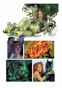 Poison Ivy origin by Stephane Roux
