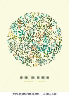 stock-vector-textured-plants-circle-decor-pattern-background-136021838.jpg (338×470)