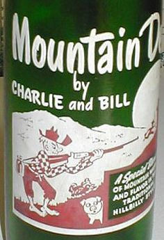 old Mountain Dew bottle