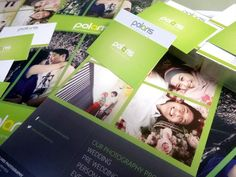 Polaris Photography brochures and business cards.